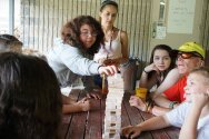 Tribes playing